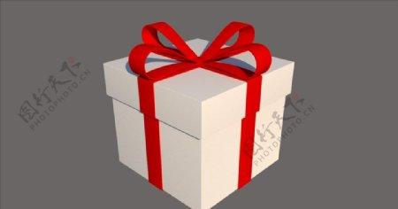 礼物礼盒SU模型图片