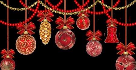 圣诞挂饰元素图片