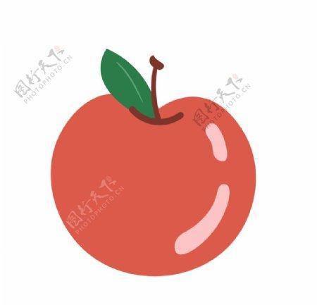 卡通手绘苹果素材图片