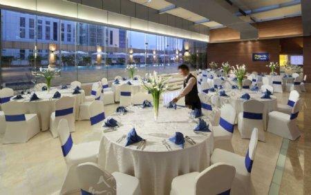 豪华别墅酒店室内宴客厅图片