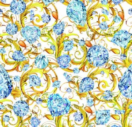 欧美花纹图片